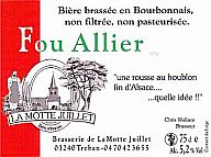 Label Bière Fou Allier